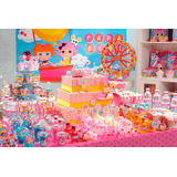 Kit Decoração Festa Infantil Lalaloopsy Boneca De Pano 39
