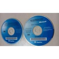 Dvd Windows 7 Sistema Operacional Itautec Original Sem Caixa