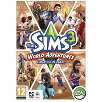 Pc / Mac - Sims 3 World Adventure (acepto Mercado Pago)