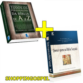 Kit Todos Os Personagens Da Bíblia De A A Z + Quem É Quem