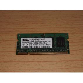Memoria Ram Promos 512mb Ddr2 667mhz Sodimm Laptop