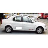 Lame Vidrios Renault Logan Fabricados En Pvc-juego 4 Piezas
