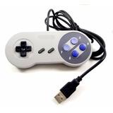 Control Super Nintendo Mando Snes Usb + Dvd 800 Juegos