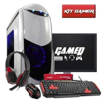 Pc Gamer Completo Amd Quad Core, 8gb, Radeon Hd 8400 2gb