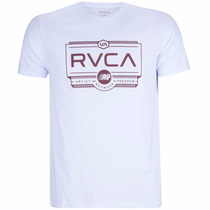 Camiseta Camisa Rvca Woodwork Original Surf Skate