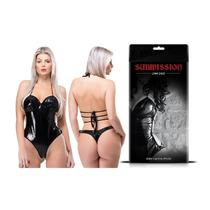 Fantasia Feminina Erótica Body Vinil Submission Sex