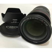 Canon Lente 24-70 Mm 2.8 Lii Usd Ultrassonic
