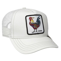 Gorra Goorin Bros. Cock - Gallo ( Blanca ) Envío Gratis
