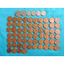 Moneda Norteamerica, 1 Centavo (64), 5 Cent (2), 1 Dime (4)