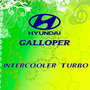 Calcomania Intercooler Turbo De Hyundai Galloper
