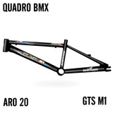 Quadro Gtsm1 Bmx Xl Aro 20 Preto Brilhante - Novo - Barato