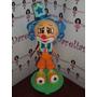 Boneco Palhaço Estrelinha Em Eva 3d 15 Cm - Turma Do Circo