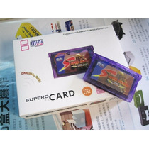 Supercard Minisd Flash Cart Para Game Boy Advance, Sp, Micro