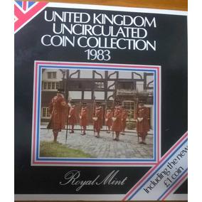Monedas Inglesas Coleccion Lote Pack Sellado