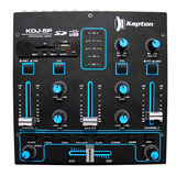 Mixer Mezcladora Dj 2 Canales Con Reproductor Usb Sd