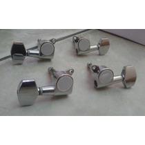 Clavijas De Precisión Plateadas Para Cuatros Venezolanos