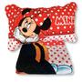 Cubrecama Reversible De Minnie Mouse 1½ Plazas Disney Piñata