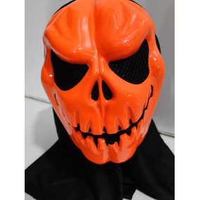 Fantasia Caveira Abobora Jason Freddy Panico Halloween Capuz