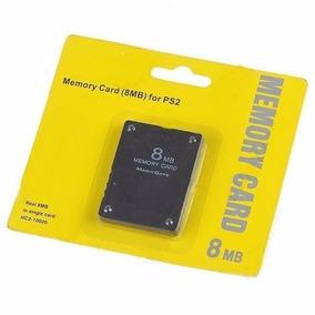 Memory Card 8mb Playstation 2 Ps2 Cartão De Memoria Lacrado
