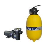 Filtro Piscina 30.000l F35 C/ Bomba 1/3cv Pentair (mark)