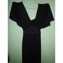 Vestido Negro Semiformal Para Coctel. Marca Vestimenta. T=m