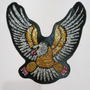 Apliques Para Murgas Aguila Estampados Glitter Super Brillo