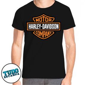 Camiseta Harley Davidson Motor Company - Camisa Moto