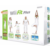 Wii Fit Plus Balance Board + Disco De Jogo Original Nintendo