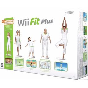 Wii Fit Plus Balance Board + Disco De Jogo Original Nintendo