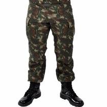 Calça Rip Stop Tática Paintball Exército Camuflada Swat