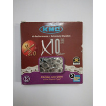 Cadena Kmc X10.99 Comptbl Shimano Sram Campagnolo 10 Veloci