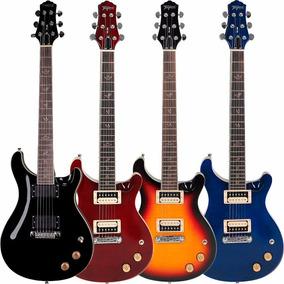 Guitarra Tagima Pr200 Prs Captação Humbucker Zebra Wilkinson
