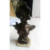 Escultura De Antimonio Antigua