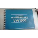 Vendo Permuto Manual De Instrucciones De Vw 1500