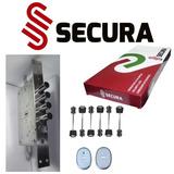 Cerradura De Alta Seguridad Italiana Secura 4 Pases 6 Llaves