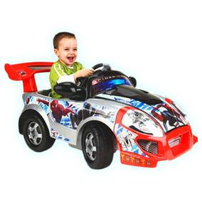 Carro Electrico Feber Roadster Para Niños De Spiderman