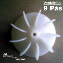 Ventoinha Hélice Secador Taiff Turbo/mp/onix/colors/fox Novo