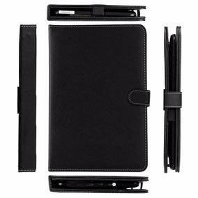 Capa Case Couro + Teclado Usb P/ Tablet 10 E 10.1 Polegadas