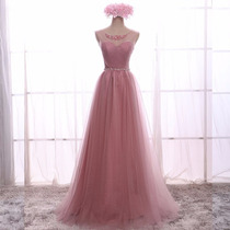 Vestido De Festa Rosê/ Debutante/15 Anos/p/entrega