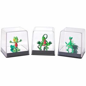 Treecko + Grovyle + Sceptile Pokémon Inicial Xy Tomy T18024