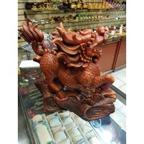 Dragon Chino - Figura Decorativa - Hecha A Mano