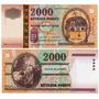 Billete Hungria 2000 Forint Año 2000 Conmemorativo 1000 Años