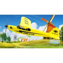 Hl803 Rc Avião 3 Ch Completo