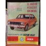 Revista Coche A La Vista N 290 Peugeot 404 Diesel Dodge 1500