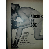 Clipping Publicidad Boxeo Television Canal 7 Noches De Box