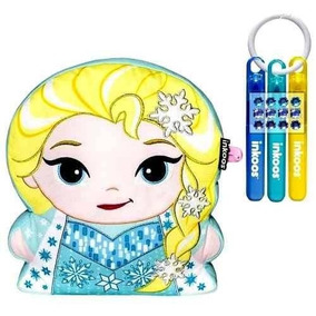Kit 02 Almofadas Bonecas Elsa E Olaf- Inkoos Frozen -dtc