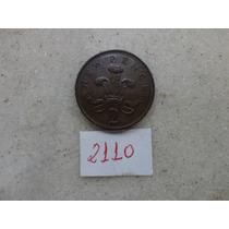 M - 2110 - Moeda Inglaterra 2 New Pence!!!