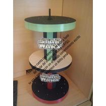 Porta Cupcake 3 Pisos Princesa Sofia Star Wars 12 A 20 Cup