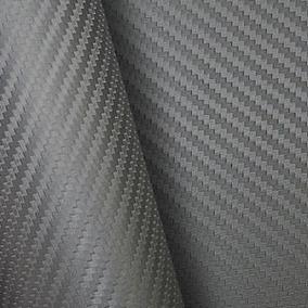 Adesivo Fibra Carbono Grafite Teto Ou Capo 1x1,22
