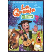 Las Canciones De La Granja De Zenón Vol 3 Dvd Los Chiquibum